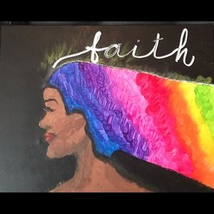 "FAITH Wall Art 16""X20"""